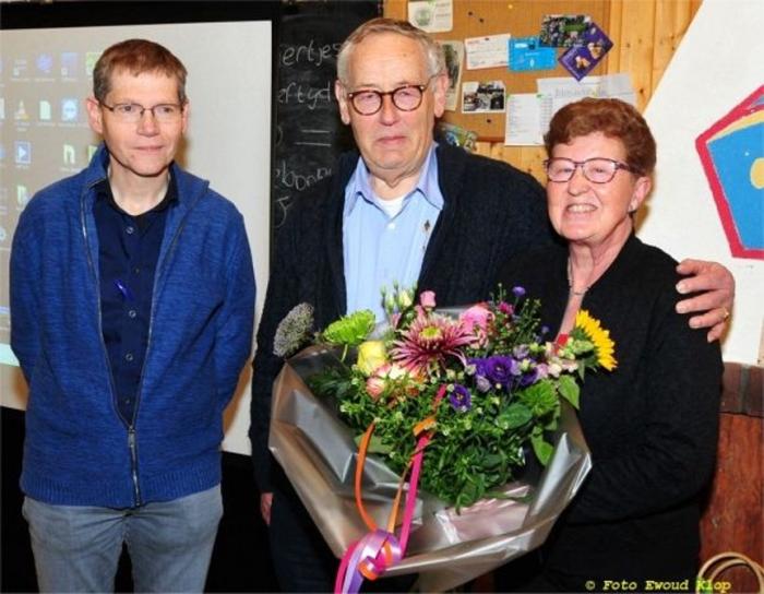Peter Zwambon, Piet Sterrenburg met echtgenoot