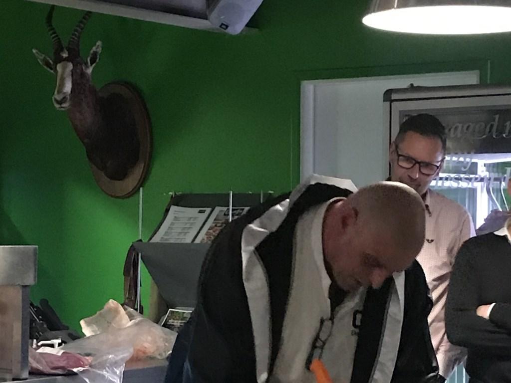 Gertjan Kiers aan het werk Driessen Food © BDU media