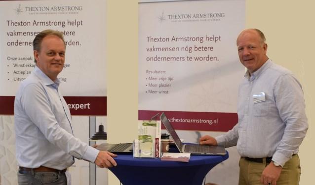 Wim Kerseboom (links) en Michiel van de Watering: laat de onderneming voor je werken.