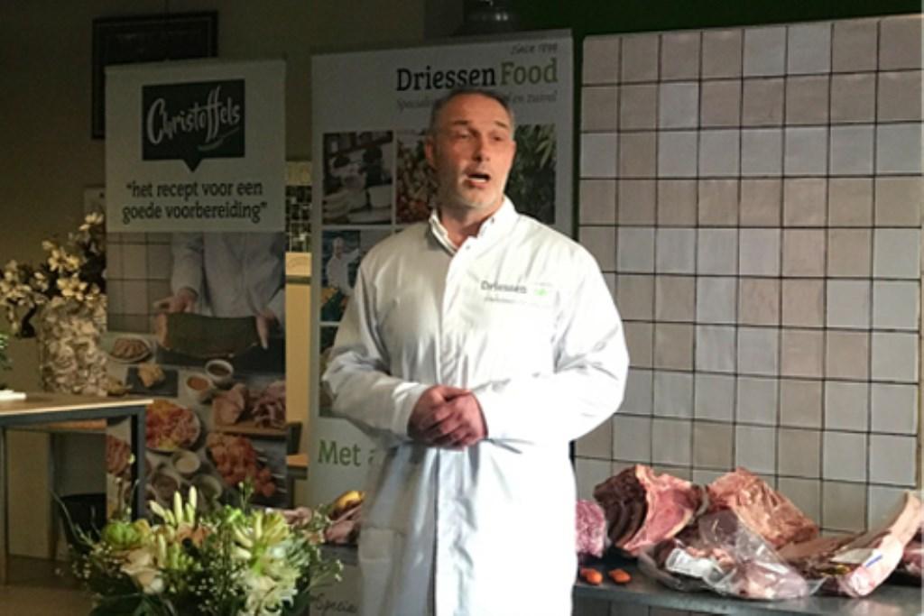 Welkomstwoord Christiaan Driessen (Directeur)       Driessen Food © BDU media