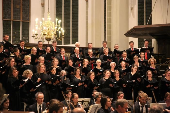 Concert door Sonante Vocale in de Jacobikerk in Utrecht