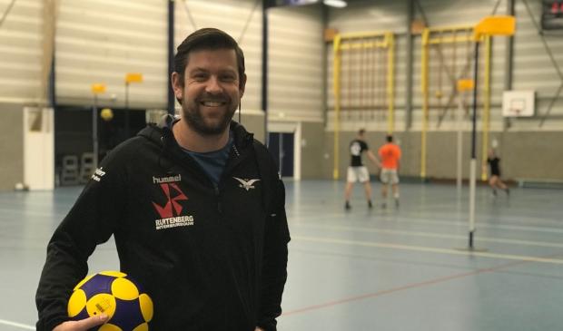 <p>Trainer Ruud Willemsen.</p>