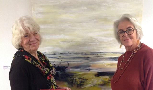 Marijke van der Made en Marjolein Tönis exposeren vanaf zaterdag in Artishock. De opening is om 20.00 uur.