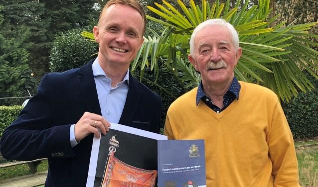 Harry en Marko Schanssema geven met hun boeken de verhalen en de geschiedenis door aan de jonge generatie.