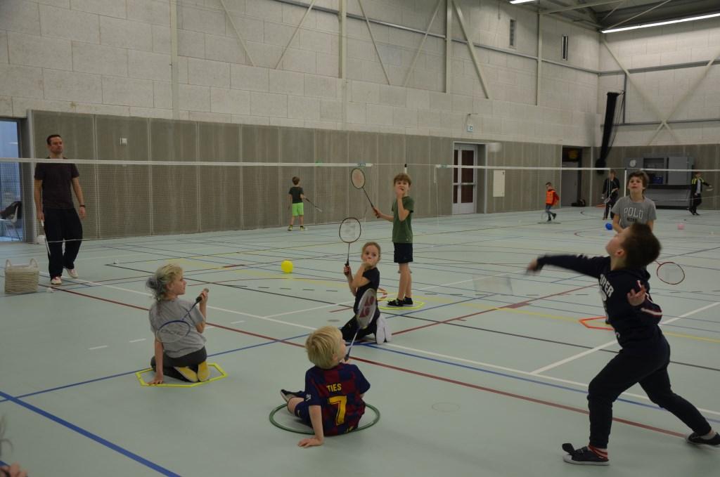 Badminton was een van de sporten Ali van Vemde © BDU media