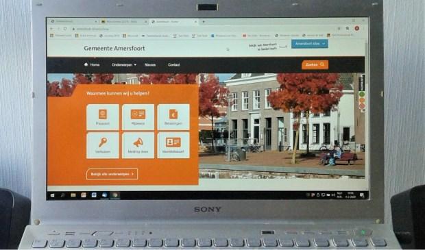 Tot begin februari verzamelde Amersfoort.nl persoonlijke informatie van de bezoekers.