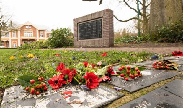 <p>Het Joods monument in Baarn.</p>