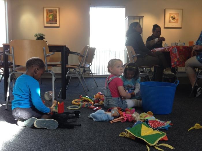 kinderen in De Herberg
