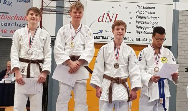 Pepijn en Finn hebben zich geplaatst voor NK judo