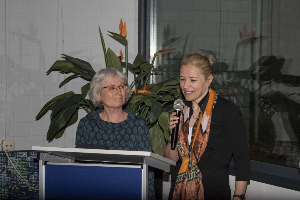 Annette Aukema en Miriam Dik nemen afscheid van WIJ Heemstede  Ellen Toledo © BDU media