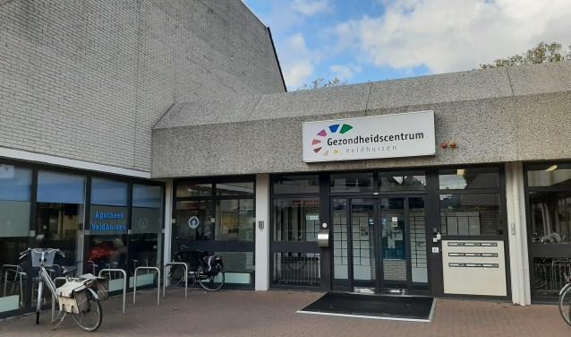 Hoofdingang Gezondheidscentrum Veldhuizen
