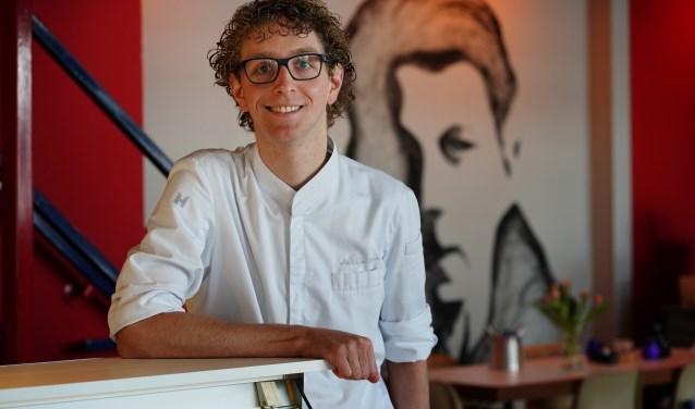 Matthijs Groen is chefkok bij Gerrit, een nieuwe horecagelegenheid in Uithoorn.