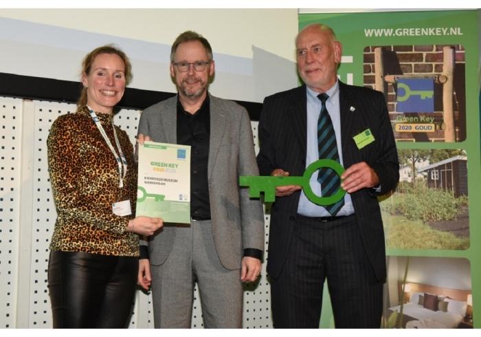 Uitreiking Green Key certificaat aan Biesbosch MuseumEiland