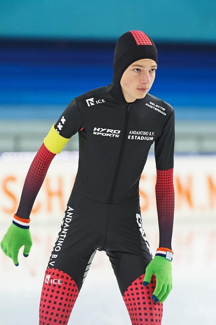 Tobias Elshof aan de start
