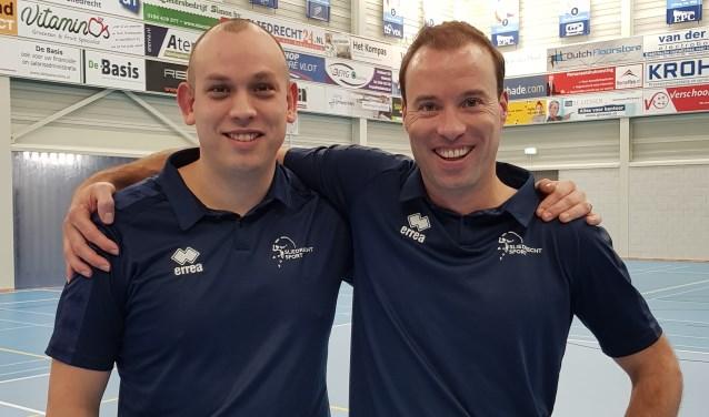 Paul van der Ven en Marnix Elbers (r).