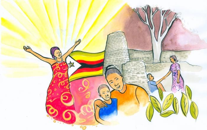 Vrouwen in Zimbabwe