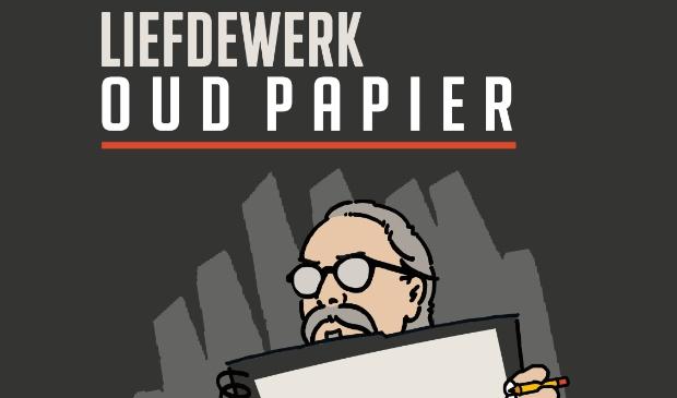 <p>Ontwerp van de karakteristieke kop van Wim van Wijngaarden</p>