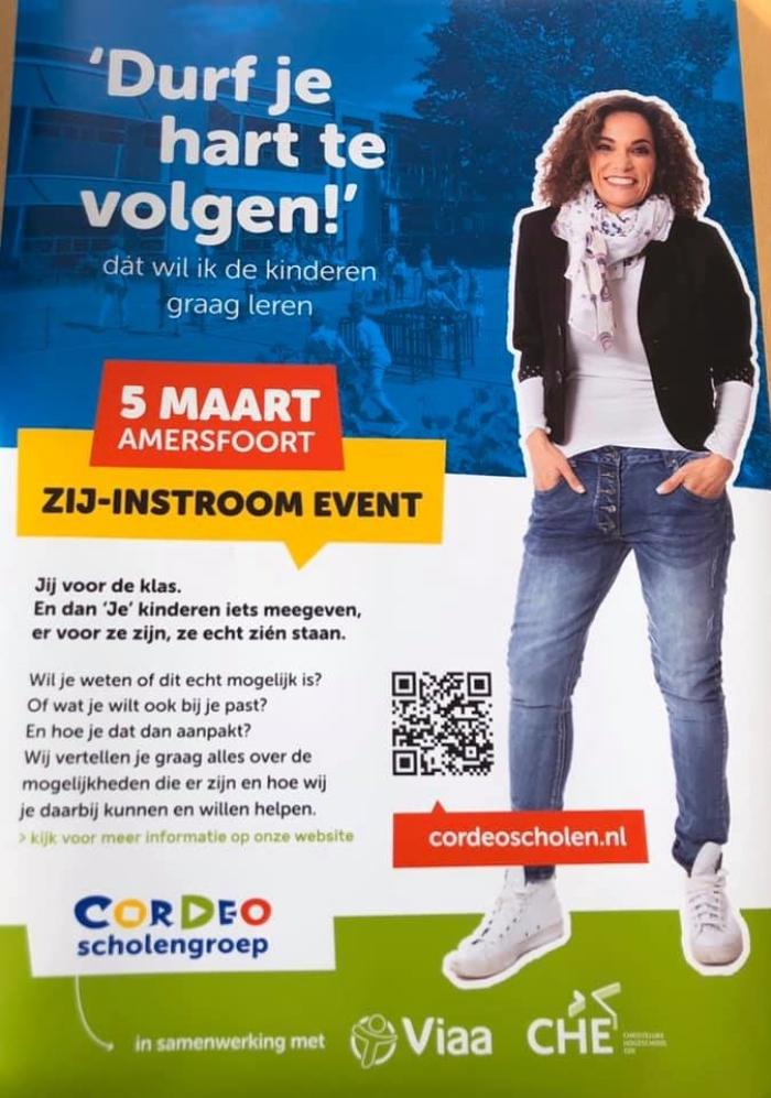 poster zij-instroom event