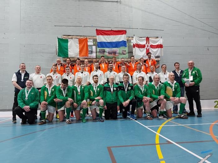 Het podium in de klasse tot 600 kg, Nederland, Noord-Ierland en Ierland