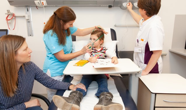 Door de nieuwe aanpak blijven kinderen met mildere acute klachten buiten de hectiek van de Spoedeisende Hulp.