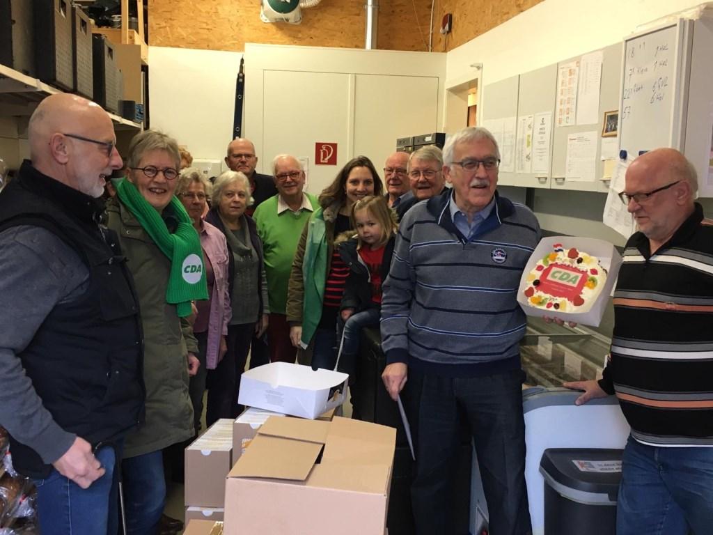 De vrijwilligers van de Voedselbank CDA Houten © BDU media