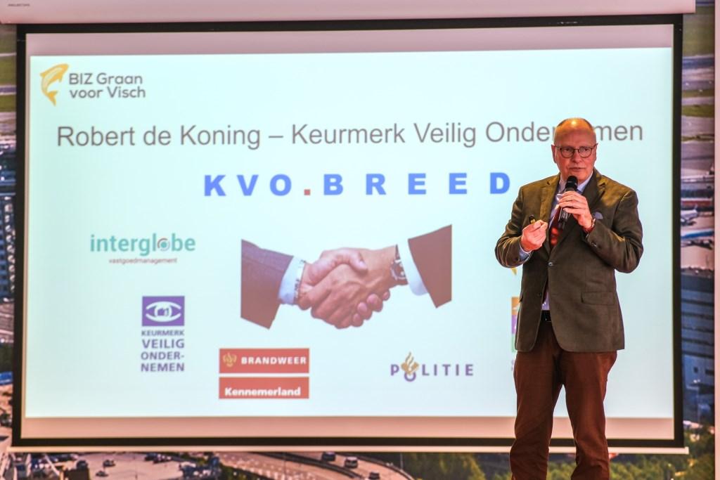Bijeenkomst van ondernemersclub BIZ Graan voor Visch, ROC Jan Aukes © BDU media