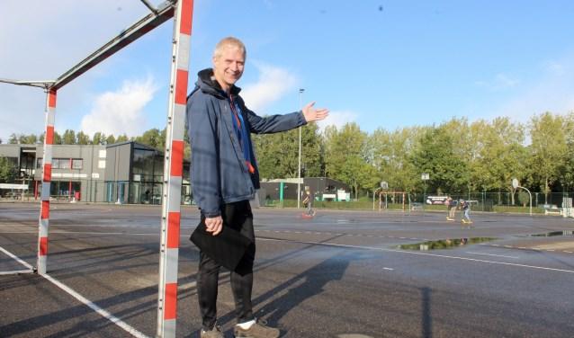 Klaas Pranger: ,,Beach handball is de toekomst.''