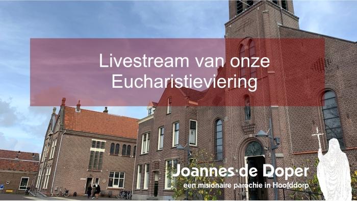 aankondiging van de livestream