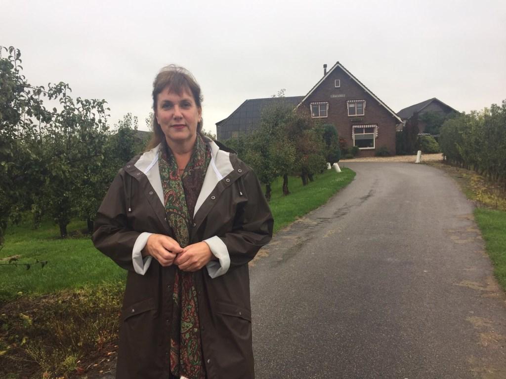 Woordvoerder Karin Schoonheim voor het bedrijf aan de Herenstraat in Werkhoven Kuun Jenniskens © BDU media