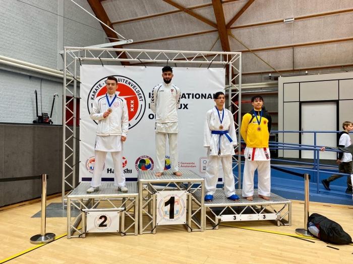 3e plaats Nathan Klint PR Kenamju Karate © BDU media