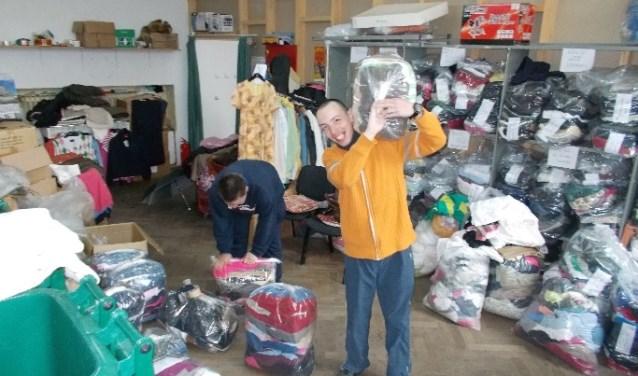 COEN kon vorig jaar twee keer kleding naar Roemenië brengen.