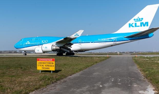 <p>Een 747 op een eerder afscheid, nu dus definitief.</p>