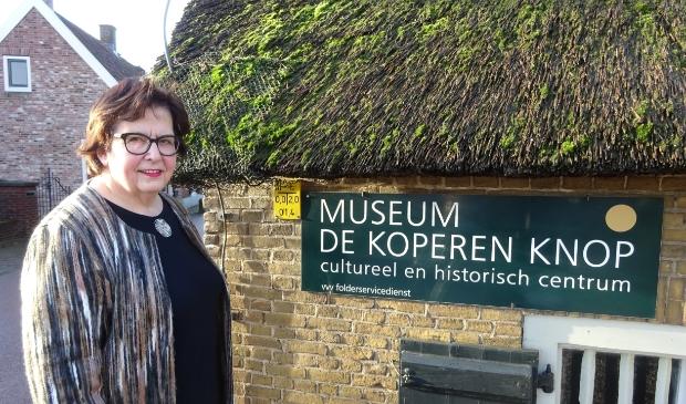 <p>Alida is al 25 jaar directeur bij museum de Koperen Knop</p>