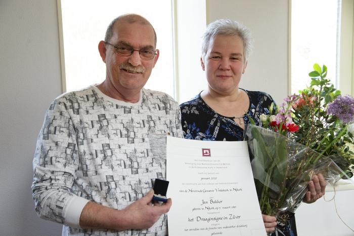 Jan Bakker met echtgenote Rita