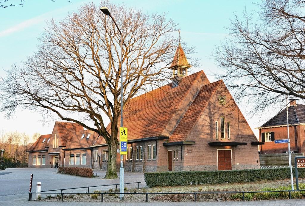 De kerk van de Hervormde Gemeente in Harskamp. Gerwin van Luttikhuizen © BDU media