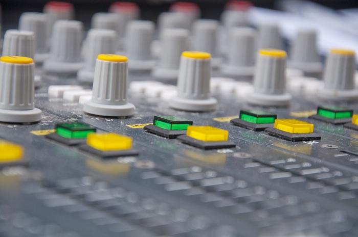 Radio mengpaneel