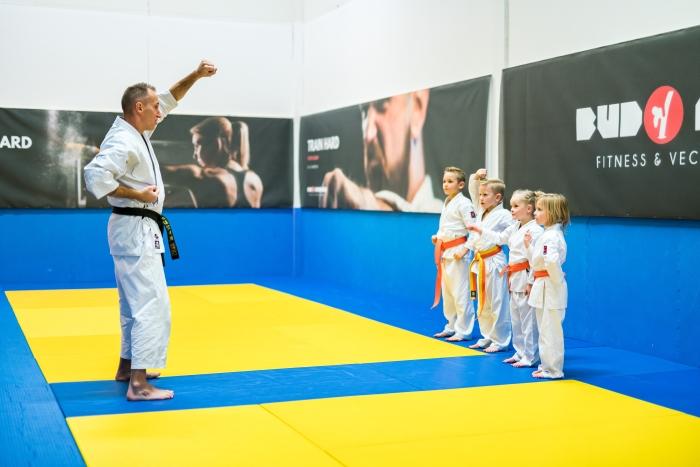 Mini Tijger Karate les