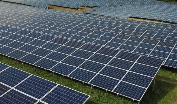 <p>Het nieuwe centrum wordt voorzien van zonnepanelen.</p>