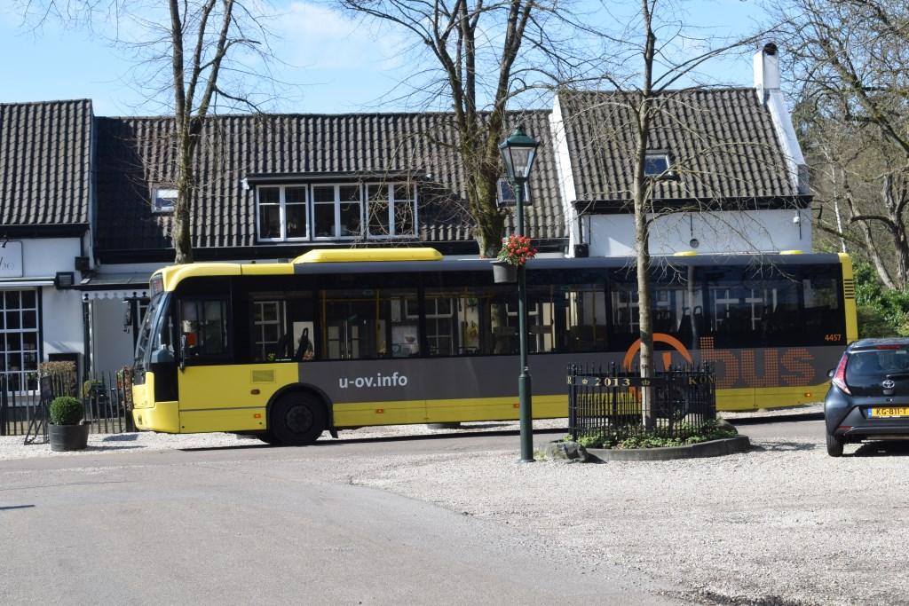 Zelfs de bus is leeg. Christine Schut © BDU media