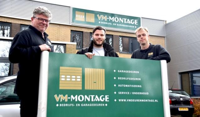 Eigenaar Popke van Mourik (links): 'goede service is een zekerheid'.