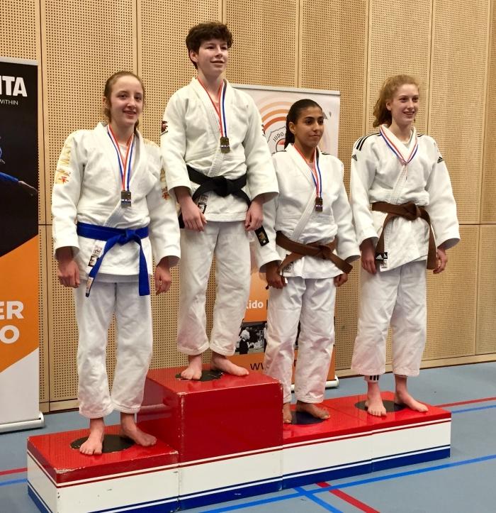 Julie Beurskens Nederlands Kampioen Judo