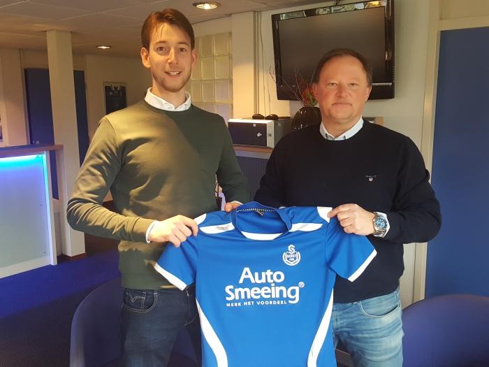 Het shirt waarin komend seizoen de resultaten behaald moeten worden Peter Beijer © BDU media