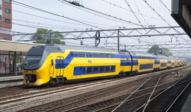De treinen rijden vanaf zaterdagvia een speciale basisdienstregeling.