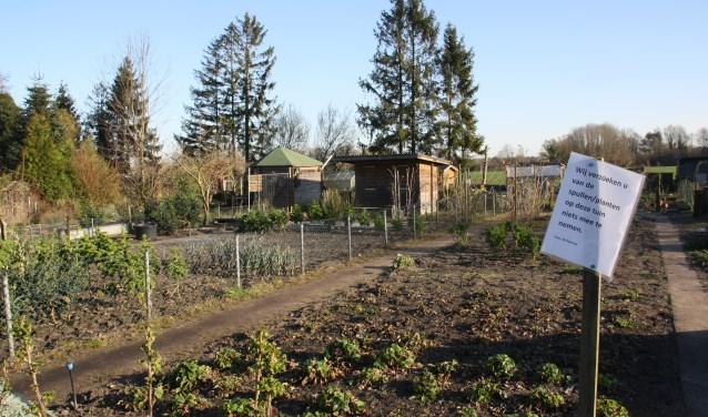 De tuinen zijn al grotendeels buiten gebruik.