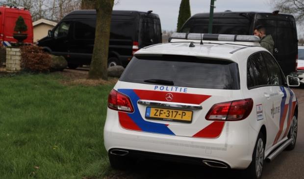 <p>Archieffoto: Politie treedt op bij een aangetroffen drugslab in de regio</p>