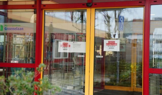 Het woonzorgcentrum aan de Groenelaan was al eerder gesloten vanwege een coronabesmetting.