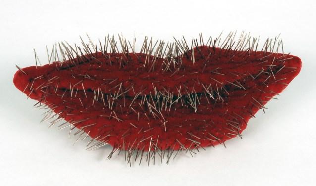 Op uitnodiging heeft de landelijke groep textielkunstenaars StiQS een expositie ingericht met opvallende en bijzondere objecten.