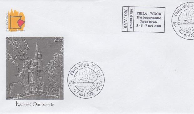 Speciaal ontworpen eerste-dag-envelop Phila-Wijck