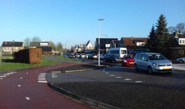 Een ongeluk op de A12 veroorzaakte vanmorgen zelfs file in het dorp Odijk
