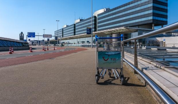 De teststraat op Schiphol is open.